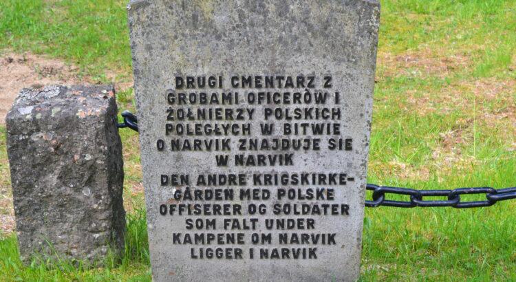 historia, Narvik, cmentarz, grób, żołnierze, wojna, Polska,
