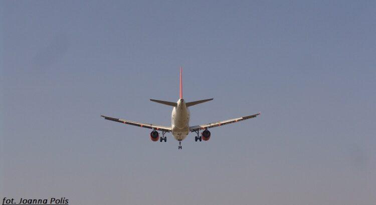 samolot, wakacje, wycieczka, podróż, niebo,